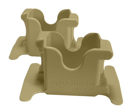 MyBuckleMate - Tan (2 Pack)