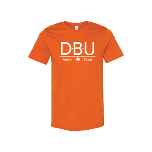 Defensive Back University T-Shirt - Short Sleeve - Burnt Orange