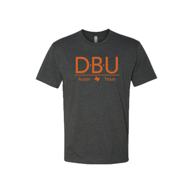 Defensive Back University T-Shirt - Short Sleeve - Charcoal