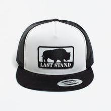 Load image into Gallery viewer, Last Stand / White & Black / Flatbill