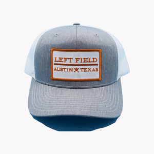 Left Field / Rectangle Patch / Heater Grey - White