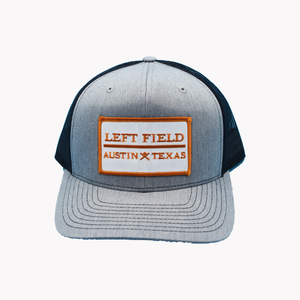 Left Field / Rectangle Patch / Heater Grey - Black