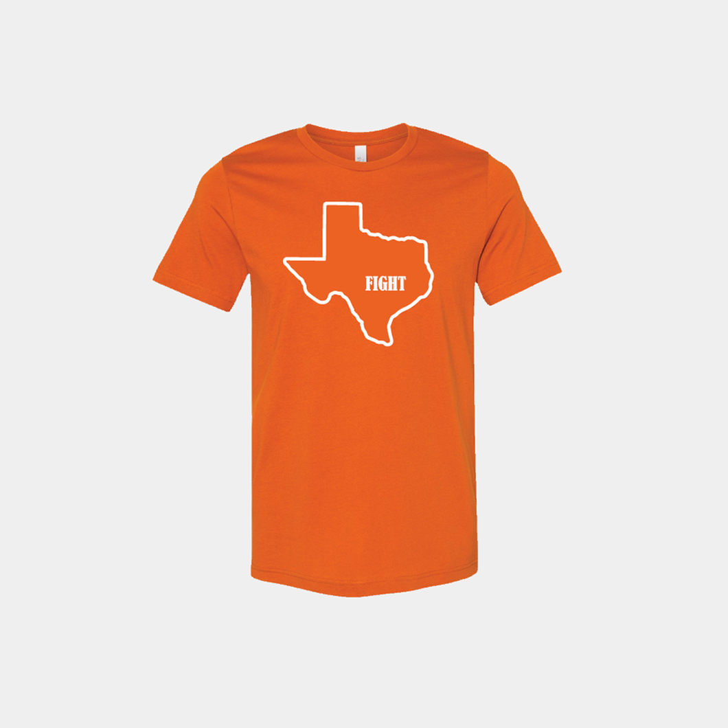 Texas Fight T-Shirt - Short Sleeve - Burnt Orange