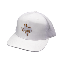 Load image into Gallery viewer, State of Texas / Icy White / White & White / Curved Bill