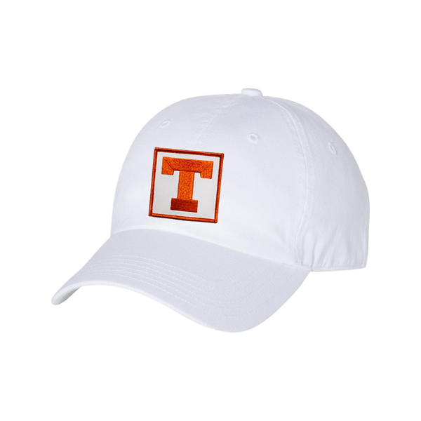 University of Texas / Square Block T / White / Dad Hat