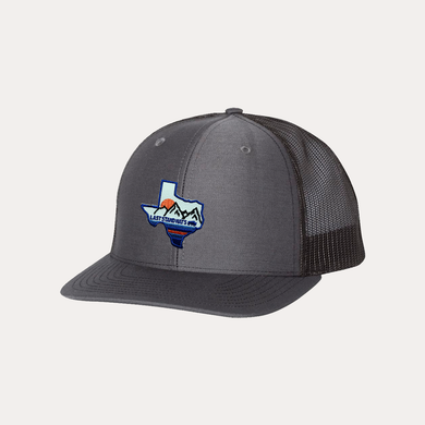 Last Stand Texas Mountains Blue / Charcoal - Black / Curved Bill