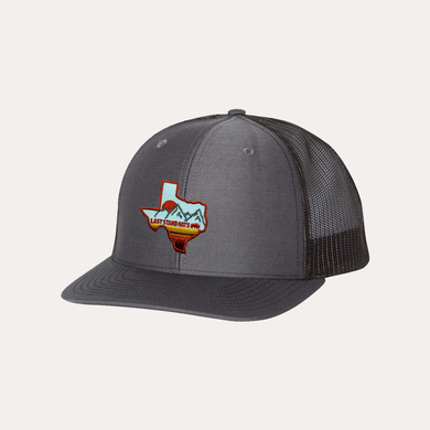 Last Stand Texas Mountains Orange / Charcoal - Black / Curved Bill