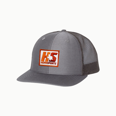 HornSports / Charcoal - Black / Curved bill