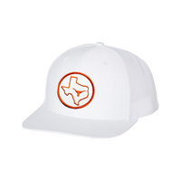 University of Texas / Circle Texas Longhorn  / Curved Bill