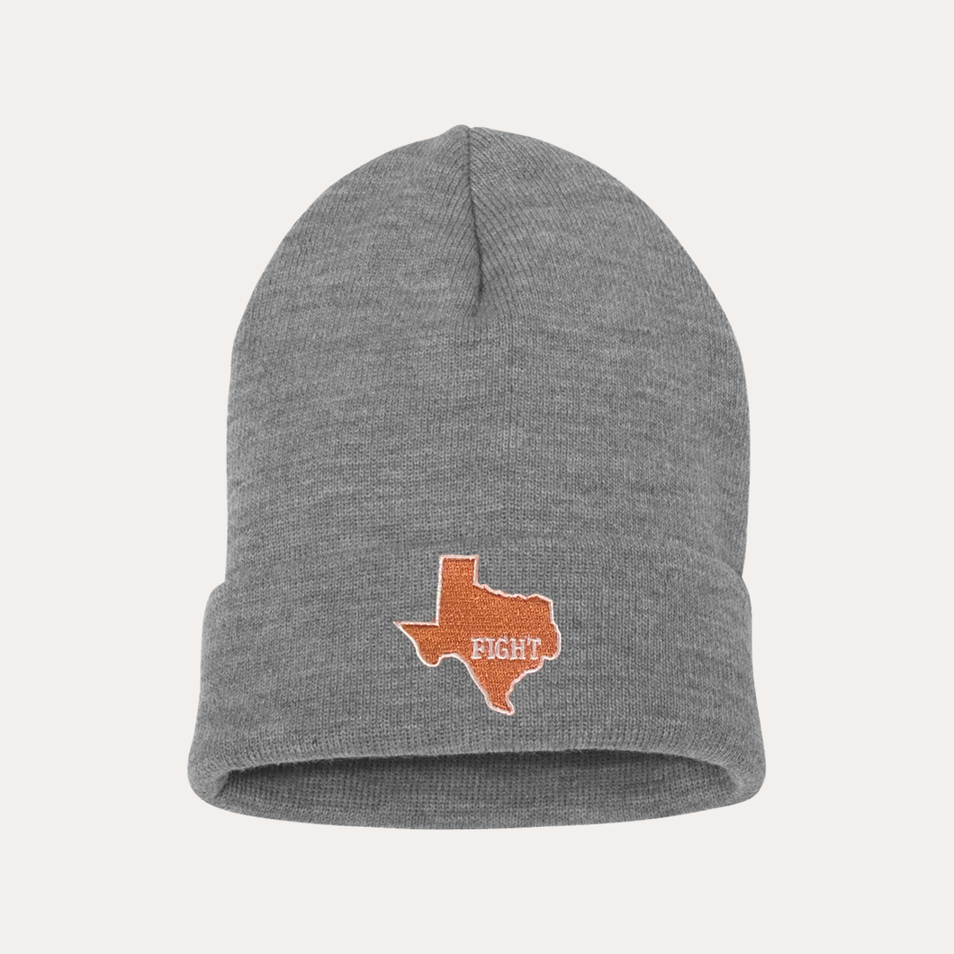 State of Texas / Beanie / Heather Grey
