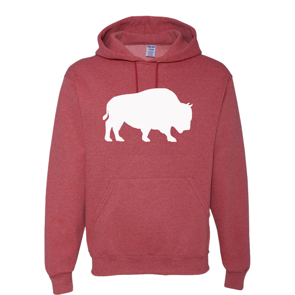 Last Stand Hoodie / White Bison / Red
