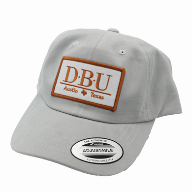 Defensive Back University / White Wash / Dad Hat