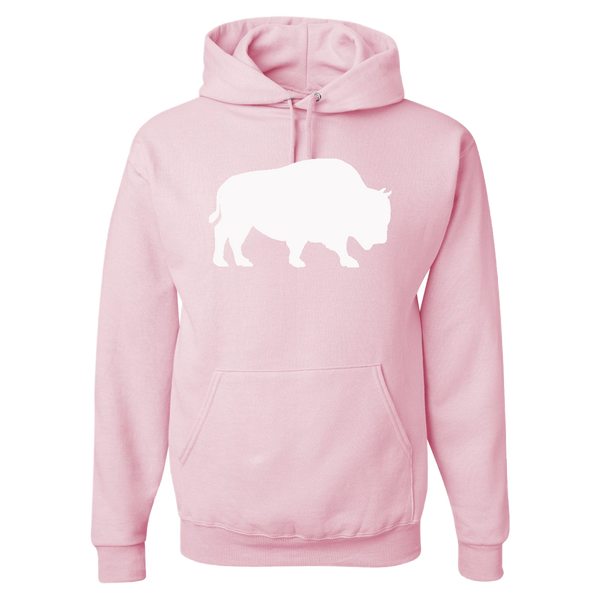 Last Stand Hoodie / White Bison / Pink