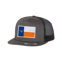 University of Texas / Longhorn State Flag  / Flat Bill