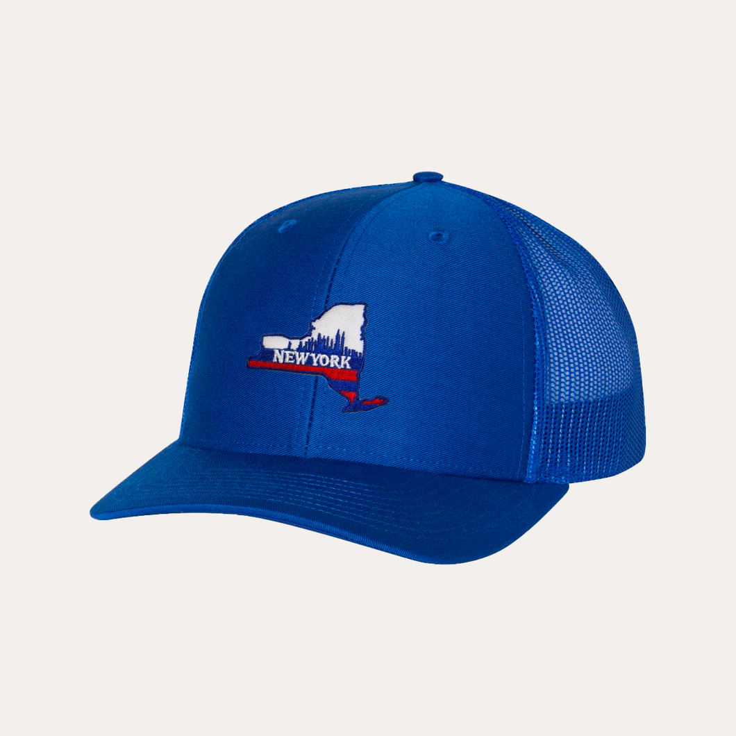 The Fan Series / New York / Blue / Curved Bill