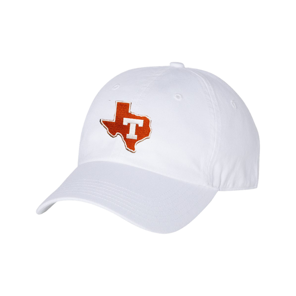 University of Texas / State Block T / White / Dad Hat