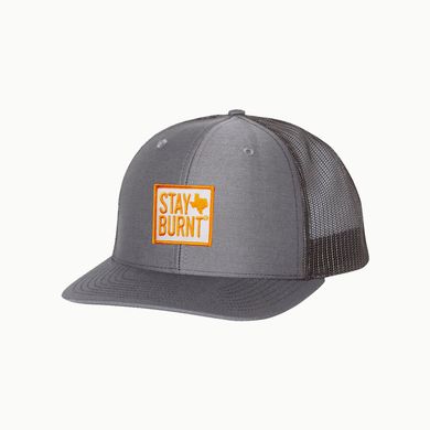 Stay Burnt / Charcoal - Black / Curved Bill