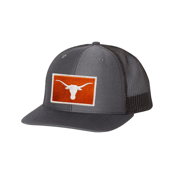 University of Texas / Steer Head Burnt Orange  / Curved Bill