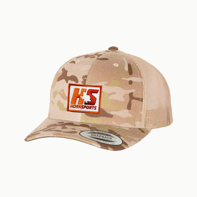 HornSports / Tan Camo / Curved bill