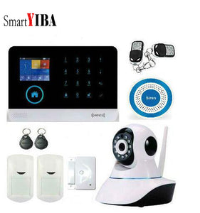 SmartYIBA APP Control WiFi Home Burglar Alarm House Surveillance Security  System