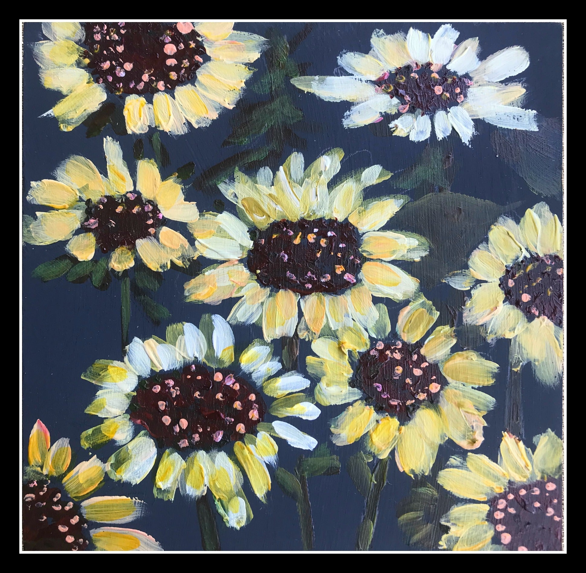 ECHINACEA FIELD, Original Art by Rea Kelly