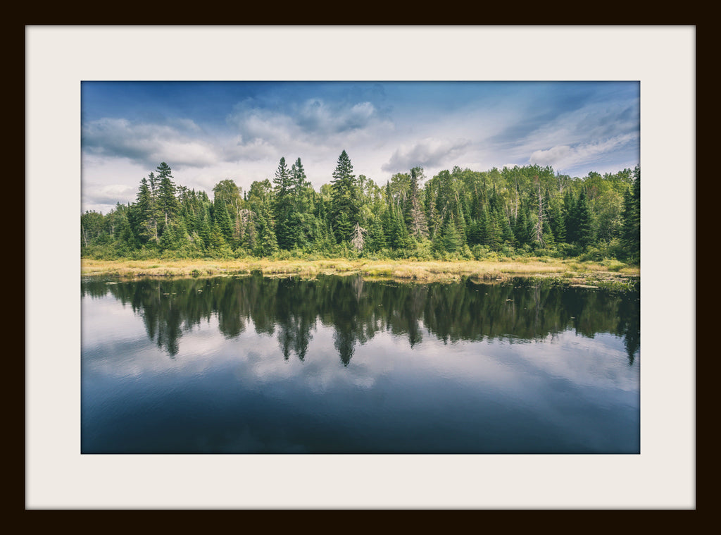 BOREAL REFLECTIONS, a Photograph by Joel Clements