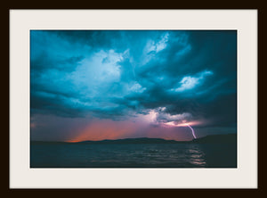 THE LIGHTNING STRIKE, a Photograph by Joel Clements (Limited Edition Only)