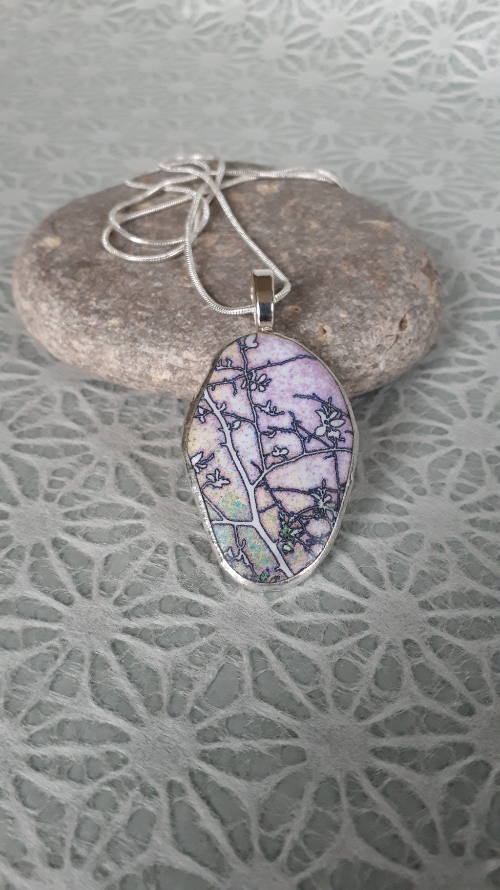 SPRING BRANCHES LAKE ERIE, Pendant by Karen Cameron