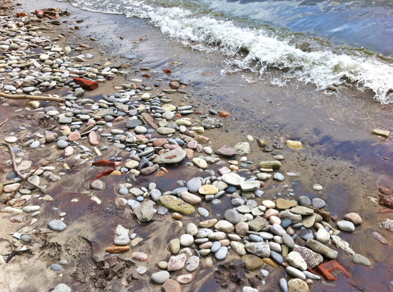 ROCKY BEACH, a Photograph by Ronnie Lebow