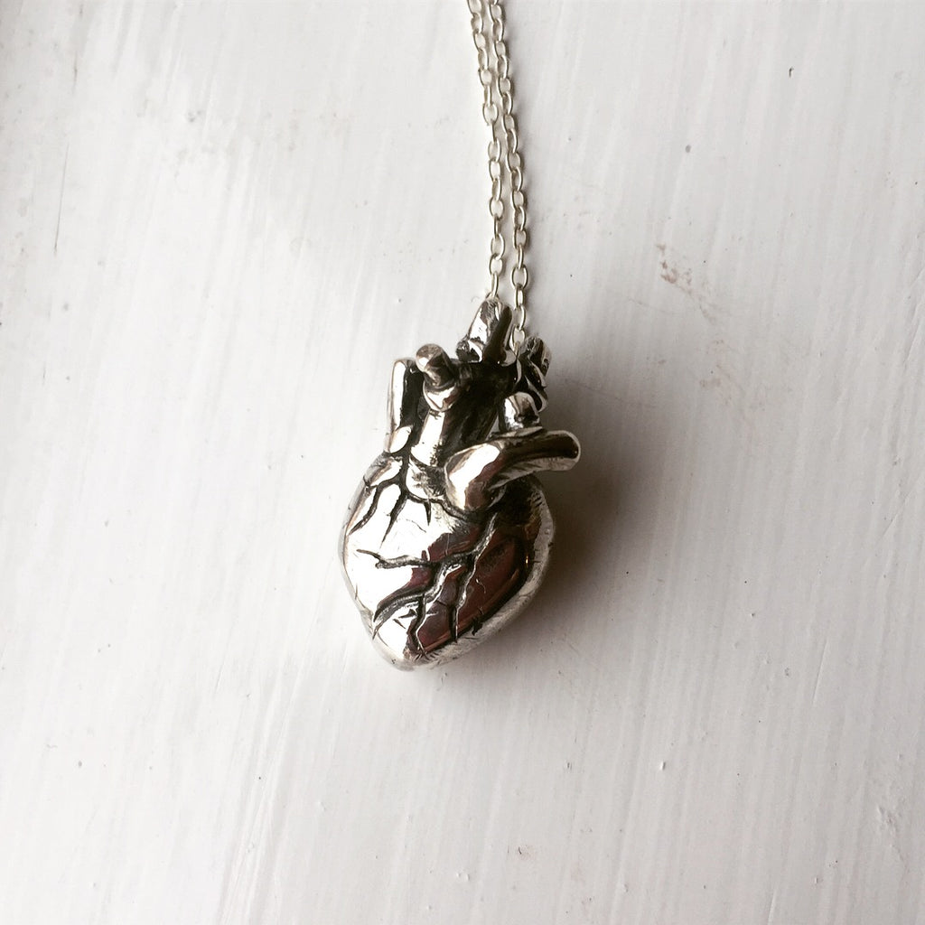 Vena Anatomical Heart Pendant