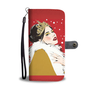 "Custom Designed Wallet Case - ""New Year"" - Kemsky Art"