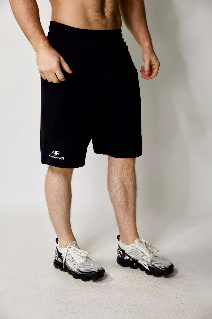 Mens Jogger Shorts Black
