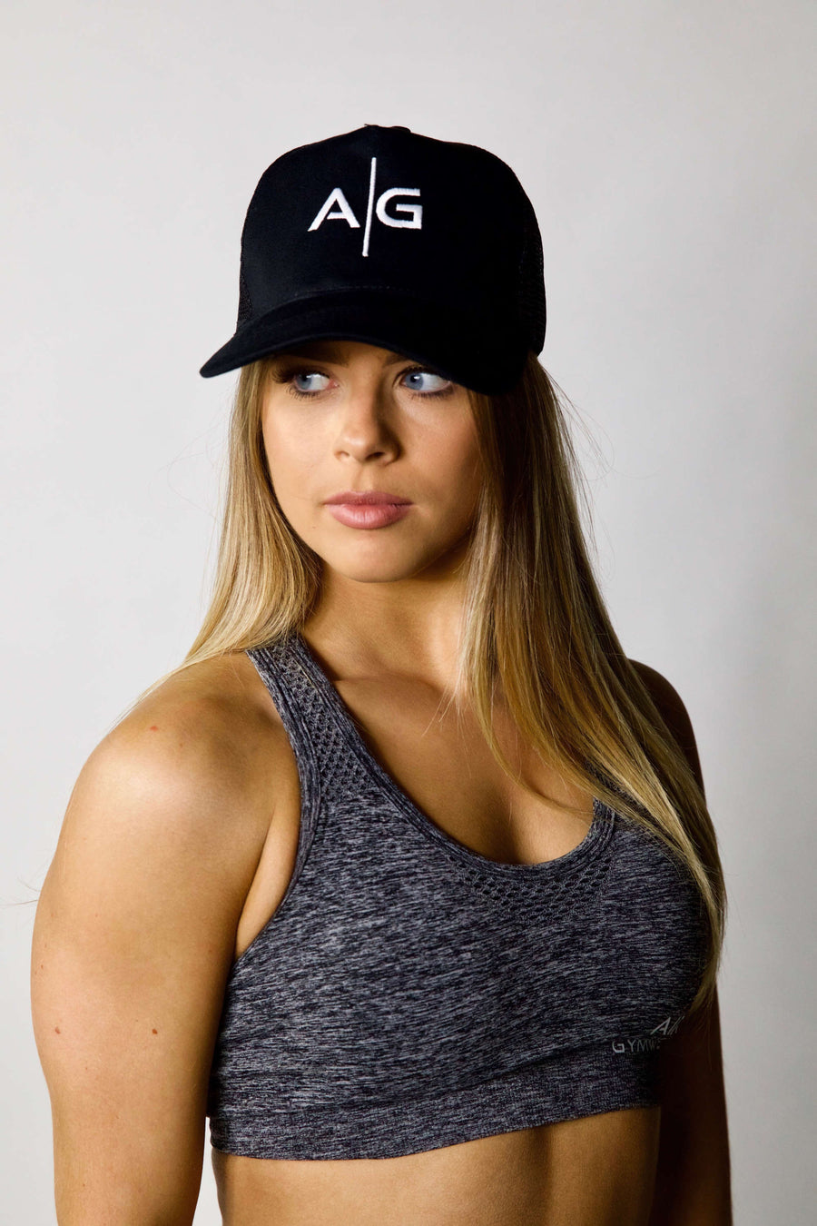 AG Trucker Cap - Black