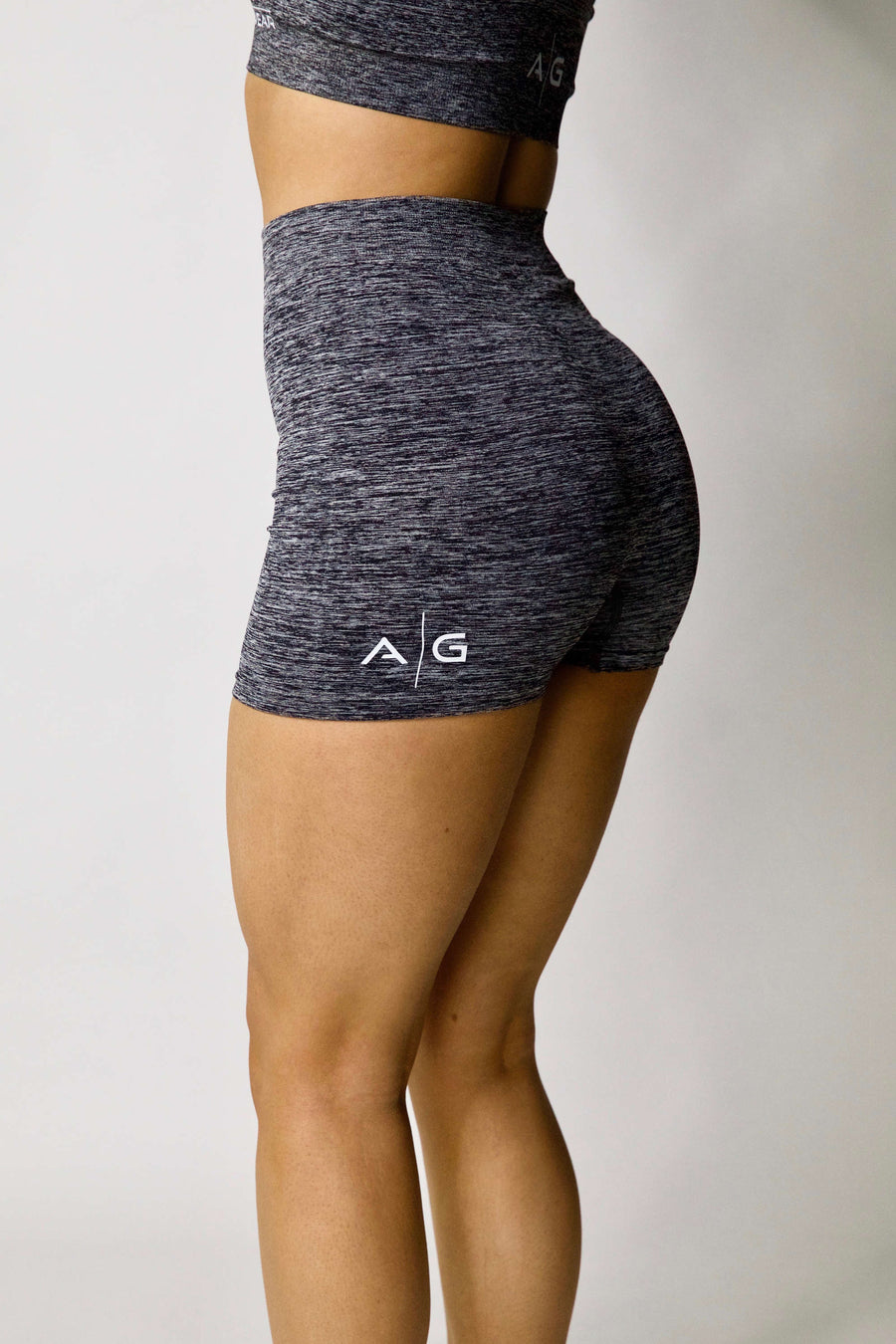 Seamless Bike Shorts - Grey