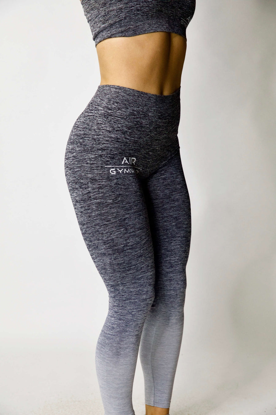 Seamless Leggings - Grey Fade