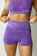 Seamless Purple Shorts