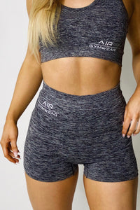 Seamless Sports Bra - Grey