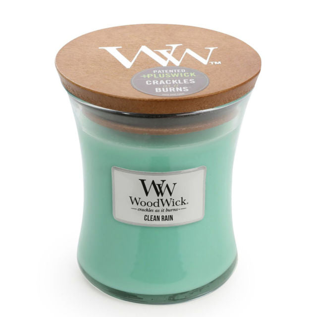 Clean Rain Woodwick Candle