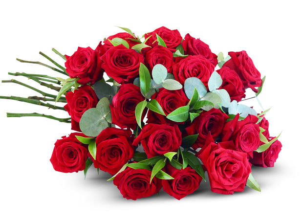 Red Roses Bouquet- Hand-Tied (Pickup Only)