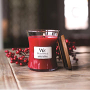 Crimson Berries Woodwick Candle