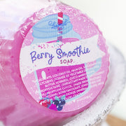 Berry Smoothie Cupcake Soap