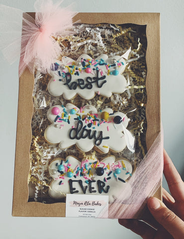 Best Day Ever Gift Set Cookies
