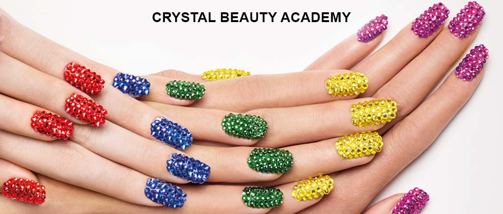 Swarovski Crystal Beauty Academy for Nail Technicians, nails, nail art, bluestreak crystals