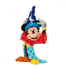 Load image into Gallery viewer, DISNEY BRITTO FIGURINE MICKEY SORCERER SML