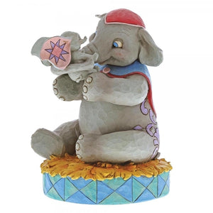 JIM SHORE DISNEY TRADITIONS MRS JUMBO & DUMBO A MOTHER'S UNCONDITIONAL LOVE FIGURINE