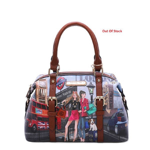 NICOLE LEE BOWLER BAG WOW ITS LONDON