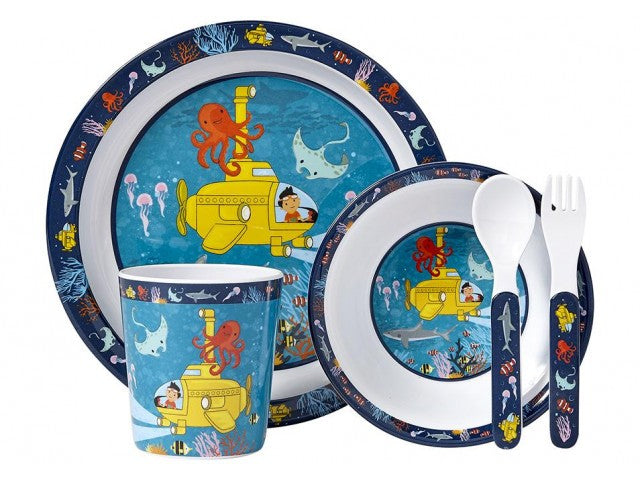 DINNER SET OCEAN EXPLORER 5PC