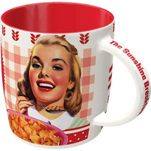 Load image into Gallery viewer, MUG NOSTALGIC ART KELLOGGS GIRL