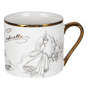 DISNEY PRINCESS COLLECTABLE MUG CINDERELLA