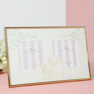 DISNEY WEDDING FRAME BEAUTY & THE BEAST DOUBLE